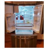 Great stainless galley style refrigerator - only a couple years old !