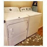 Nice washer & dryer