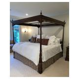 Stickley King Canopy Poster Bed