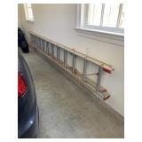 """Werner D1124-2 24"""" Aluminum Extension Ladder $100.00"""