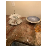 Portmeirion Tiered Serving Tray $30