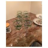 Set of 8 Portmeirion Wine Goblets $75 for all 8