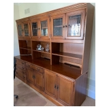 3 Seperate Pieces (Tops come off) Credenza/Bookcase/Cabinet $225