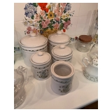 LILLIAN VERNON CANISTERS $30