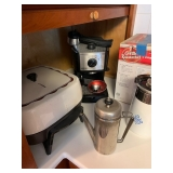 Red Coffee Press Sold and Percolater Sold