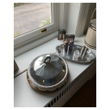 Silver Plate Serving Dish $18