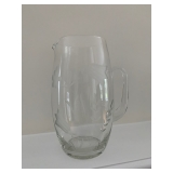 Crystal Etched Pitcher $16
