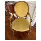 Antique French Parlor Chair $70