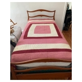 MAPLE SINGLE BED $75.00