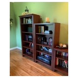 Thomasville Open Bookcases Large $225, Medium $175 and Small $100