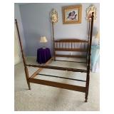Ethan Allen 4-Poster Bed Full $245