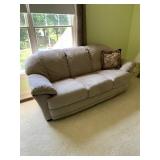 Microfibre Upholsrtered Sofa $345