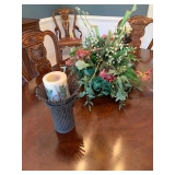 Another Pic of candlesticks and centerpiece
