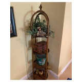 Bamboo Style Tiered Stand $60