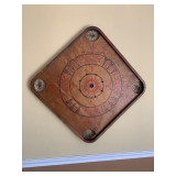 Antique Pocket Game Board $65