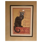 Chat Noir Framed Poster $75