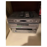 Sony Receiver and DVD $120
