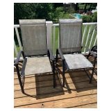 Set of 4 Outdoor Chairs $100