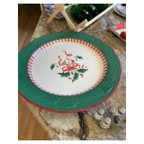 Home for the Holidays Round Platter $28