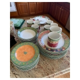 Service for 8 Dinner, Lunch, Bowls,Mugs all for $155