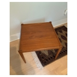 "House of Denmark Square Teak Occasional Table 23"" Sq $250"