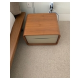 "Ligne Roset CEMIA by Peter Maly Walnut Night Stand 12""x19.75""x16.75"" $850"