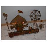 Metal Carousel Art