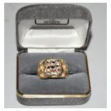 10K Nugget Ring