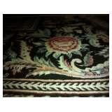 16/18 Bessarabian rug, hand-knotted in Pakistan, approximately 288 knots per square inch, black back