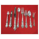 Sterling flatware and other select items? Not on site until Saturday.