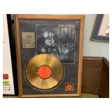ELVIS GOLD RECORD