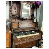 Organ or great MANTLE TOP