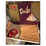 Terri Lee Doll clothes in box