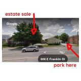 Estate Sale Parking