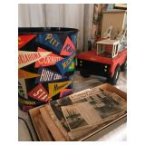 vintage teen decor, vintage toys