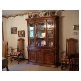 China Hutch & DR Chairs