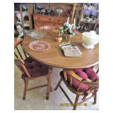 Tell City Maple Table/6 Chairs..