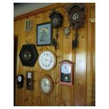 Another wall of Clocks