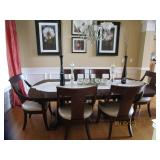 Like New, Beautiful Dining Rm Table, Chairs, Non-Smokers, No Children, No Pets.. Seldom Used