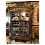 Victorian Aesthetic Movement China Cabinet