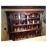 Large Bar/Book Wall Shelf