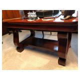 Library Table/Desk with S0Scroll Leg