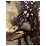 Set of 4 Upholstered High Quality Bar Stools