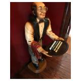 Butler Figure with Glasses