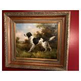 Jim Hutt Large Oil Painting