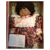 Goebel Betty Ball Tanya Porcelain Doll (NIP)