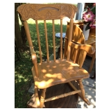 Solid Wood Child Size Rocker
