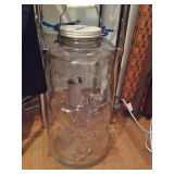 Giant 4 Gallon Mason Canning Jar - Coin Bank - 1858
