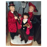Holiday Carolers Display