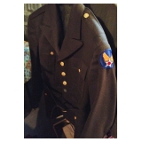 WWII US Army Air Force Wool Uniform Coat